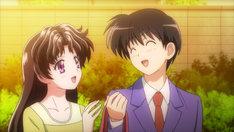 「ふたりエッチ」OVAの1シーン。(c)2014 克・亜樹/白泉社/「ふたりエッチ」アニメプロジェクト