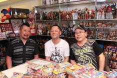 (左から)ケンドーコバヤシ、嶋田隆司、中井義則