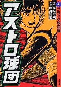 1999年に太田出版から復刻された、「アストロ球団」の1巻。