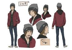 ミツオ(CV:KENN)キャラクター設定画 (c)岩明均/講談社・VAP・NTV・4cast