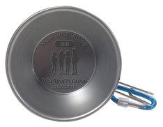 シェラカップ。底にはキャラクターのシルエットが型押しされている。(c)S/ESE/E