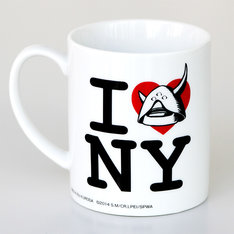 「アップルシードα I LOVE NYマグカップ」