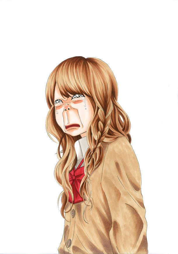 桐谷美玲が演じる松崎はとり。(c)幸田もも子/集英社