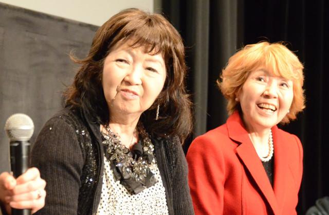 (左から)小原乃梨子、野村道子。
