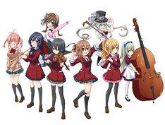 竹井10日原作による坂野杏梨「がくだん!(仮)」は女の子だらけのオーケストラを描く青春作品。同作は、月刊コンプエース6月号より連載が開始される。