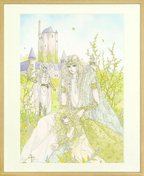 「妖精国の騎士」直筆サイン入り複製原画。