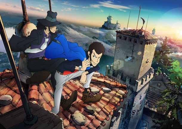 アニメ「ルパン三世」新TVシリーズのキービジュアル。原作:モンキー・パンチ (c)TMS