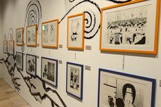 「連載完結記念 岸本斉史 NARUTO-ナルト-展」に展示された原画。(c)岸本斉史 スコット / 集英社