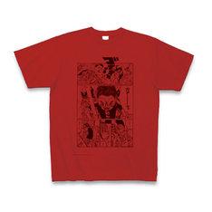 「鉄コン筋クリート」担当編集者が選んだページをプリントしたTシャツ。(c)松本大洋/小学館