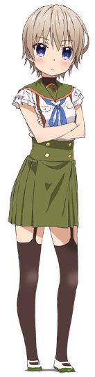 キャラクターデザインを担当する飯塚晴子が描いた、直樹美紀の新規ビジュアル。(c) Nitroplus/海法紀光・千葉サドル・芳文社/がっこうぐらし!製作委員会