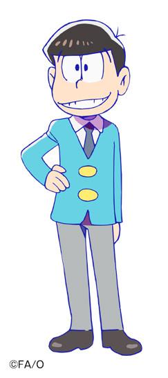 櫻井孝宏演じる松野家の長男・おそ松。小学校6年生のメンタルのまま成長してしまった、奇跡のバカ。(c)赤塚不二夫/おそ松さん製作委員会