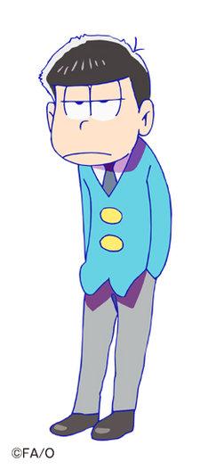 福山潤演じる松野家の四男・一松。マイペースな皮肉屋で、しれっと毒をはくことが多い。ネコが友達。(c)赤塚不二夫/おそ松さん製作委員会