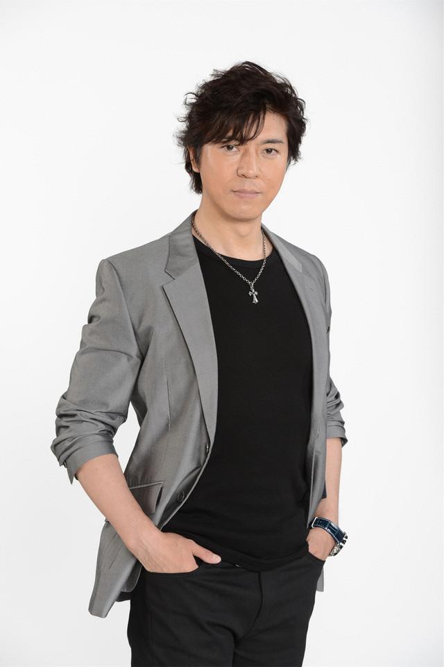 ドラマ「エンジェル・ハート」にて冴羽リョウ役を演じる上川隆也。