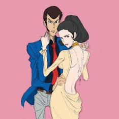 石川さゆり「ちゃんと言わなきゃ愛さない」のジャケットイメージ。(c)モンキー・パンチ/TMS・NTV