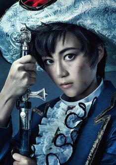 ミュージカル「リボンの騎士」でサファイア役を演じる生田絵梨花(乃木坂46)。