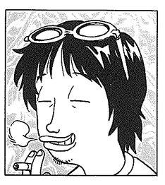 満田拓也の自画像。