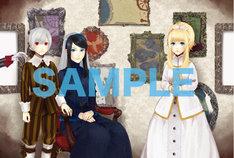 アニメイトの一部店舗にて配布されているポストカード2枚組セットの1枚。