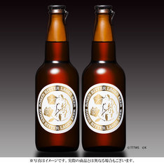 「銀河英雄伝説 ローゼンリッター(薔薇の騎士) ビール(2本セット)」1944円