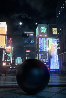 フル3DCGアニメーション映画「GANTZ:O」のビジュアル。