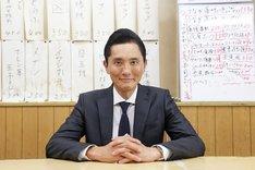 「孤独のグルメ」で井之頭五郎役を演じる松重豊。(c)テレビ東京