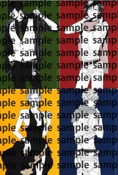 描き下ろしポストカード4枚セット(イラスト:毛魂一直線、彩景でりこ、ナツメカズキ、里つばめ)