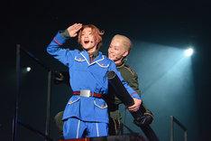 ミュージカル「ヘタリア~Singin' in the World~」公開稽古の様子。