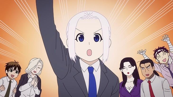 ショートアニメ「企業戦士アルスラーン」より。