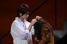 「花より男子 The Musical」公開稽古より。