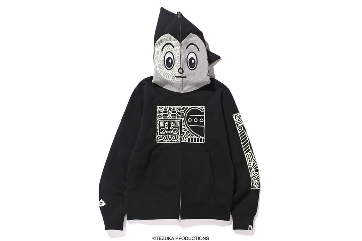 「ASTRO BOY MECHANIC FULL ZIP HOODIE」