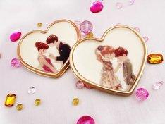 Patisserie Swallowtailとコラボしたバレンタインチョコレートのイメージ。