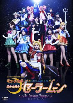 「ミュージカル『美少女戦士セーラームーン』-Un Nouveau Voyage-」のDVDジャケット。(c)武内直子・PNP/ミュージカル「美少女戦士セーラームーン」制作委員会2015