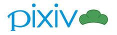 コンテスト開催に伴い、pixiv内のロゴには松マークが添えられている。