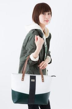 バッグの使用イメージ。