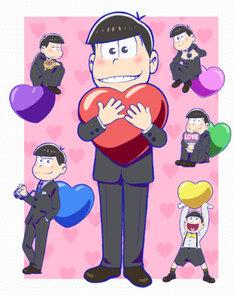 おそ松さん×渋谷パルコ バレンタインデーイベント「LOVE松さん」メインビジュアル