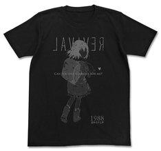 「僕だけがいない街Tシャツ」のブラック。