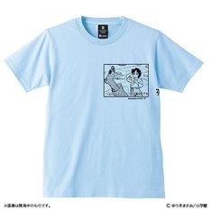 「究極超人あ~る コウガブルーTシャツ」のブルー。