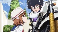アニメ「ばくおん!!」PV第2弾より。