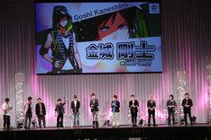 「B-PROJECT プレミアムステージ in AnimeJapan 2016」の様子。