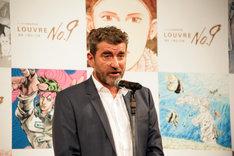ルーヴル美術館文化制作局出版部副部長のファブリス・ドゥアール氏。