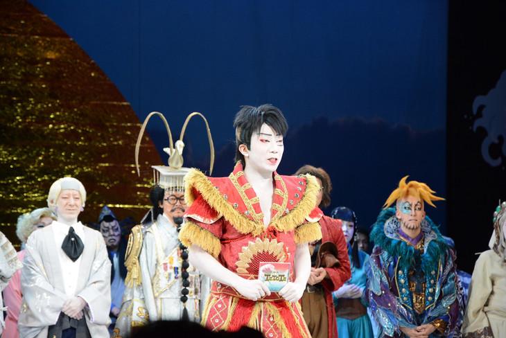 「スーパー歌舞伎II(セカンド)『ワンピース』」千秋楽の様子。