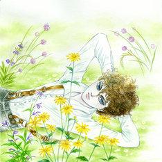 「ポーの一族」の新作「春の夢」のカット。