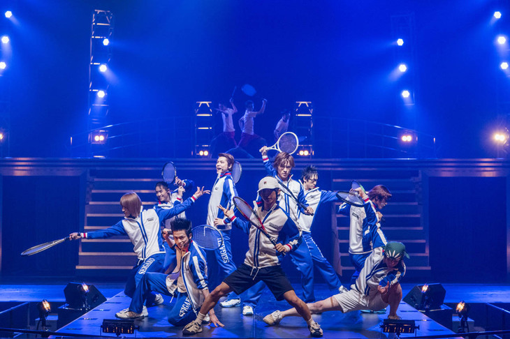 「ミュージカル『テニスの王子様』コンサート Dream Live 2016」より、青春学園。
