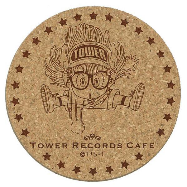 「Dr.スランプ アラレちゃん × TOWER RECORDS CAFE コースター」(アラレちゃん)