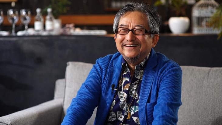 「この映画が観たい」に出演した永井豪。