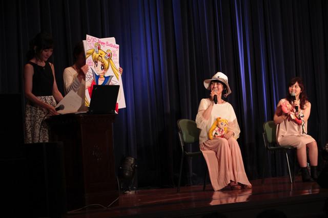 中川翔子の描き下ろしイラストも披露された。