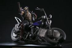 「ジャギ&バイク」(LEDライトあり)