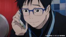 アニメ「ユーリ!!! on ICE」PVより。
