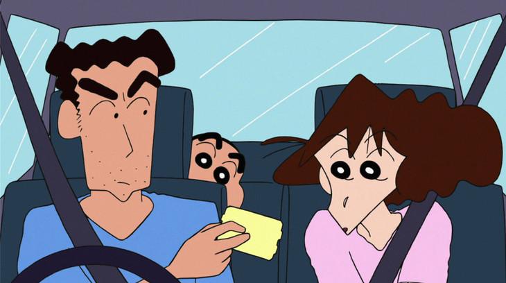 本日放送の「クレヨンしんちゃん」の「ギリギリで買い物するゾ」より。(c)臼井儀人/双葉社・シンエイ・テレビ朝日・ADK (c)テレビ朝日