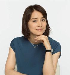 石田ゆり子演じる土屋百合。