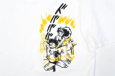「うる星やつら グリッチ刺繍Tシャツ(電撃)」